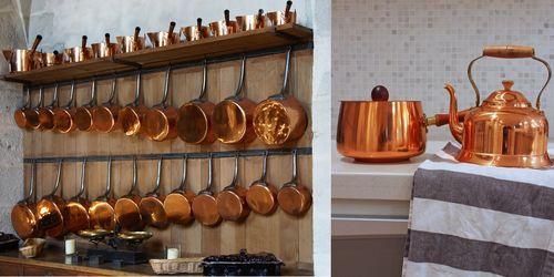 посуда из латуни польза и вред