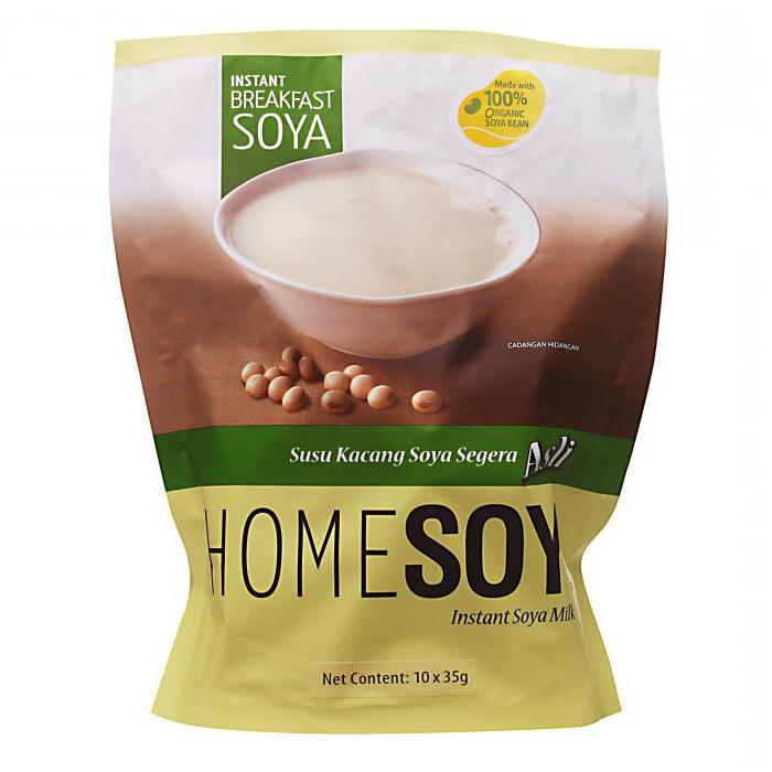 соевое сухое молоко польза и вред