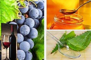 сок алоэ с медом и кагором чем полезен