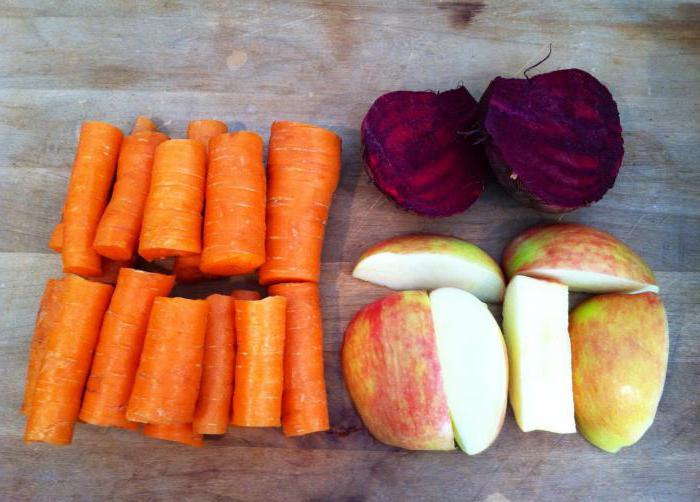сок морковный свекольный польза и вред