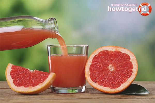 свежевыжатый грейпфрутовый сок польза и вред