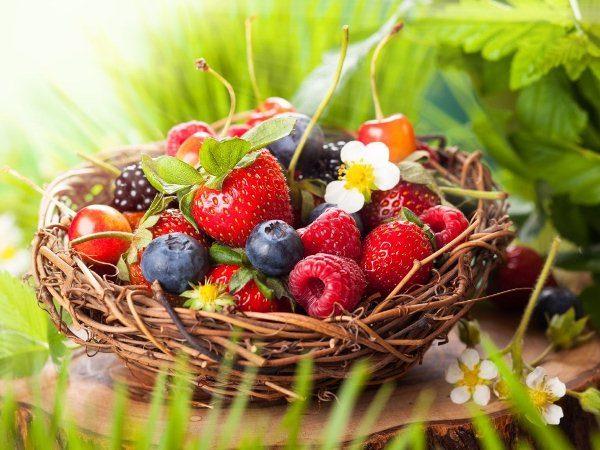 все ягоды список с картинками и полезными свойствами