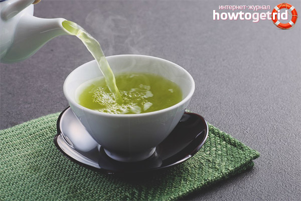 зеленый чай для беременных польза и вред