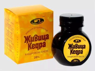 кедровое масло с живицей полезные свойства и противопоказания