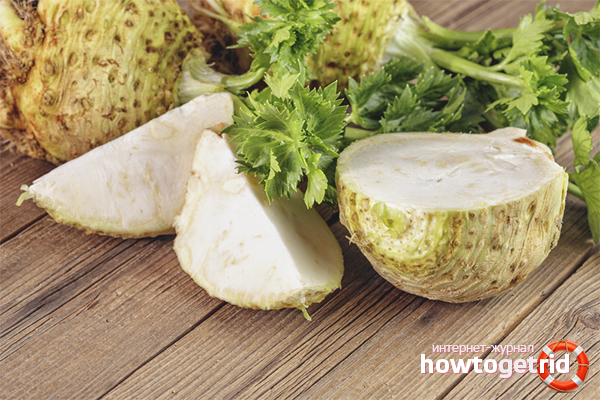 корень сельдерея полезные свойства для женщин и калорийность