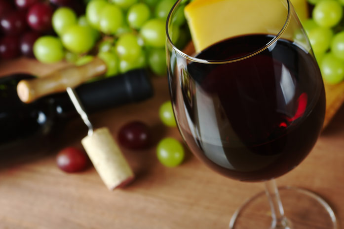 красное виноградное вино польза и вред