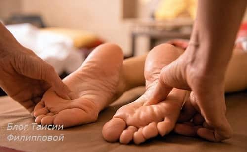 массаж ступни ног польза и вред