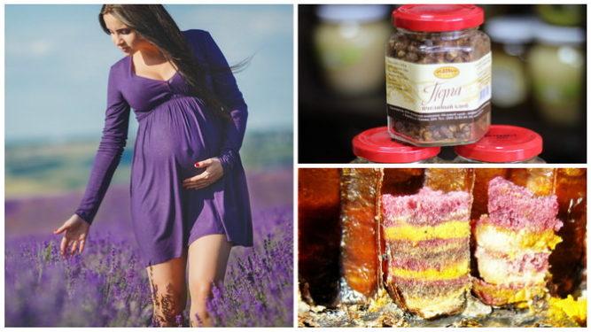 перга при беременности полезные свойства и противопоказания