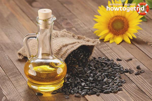 подсолнечное масло горячего отжима полезные свойства и противопоказания