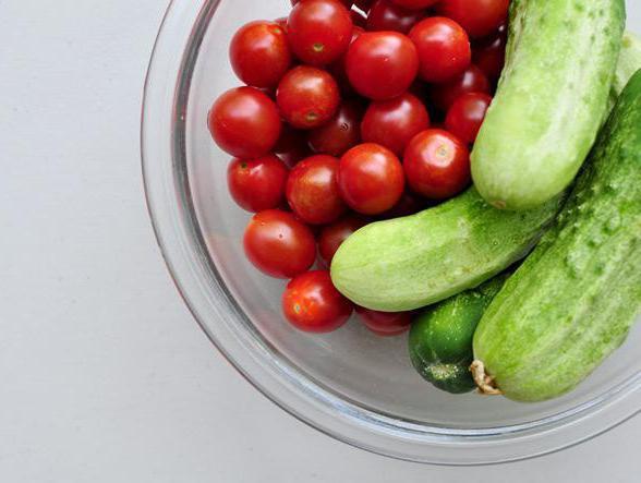 помидоры и огурцы польза и вред