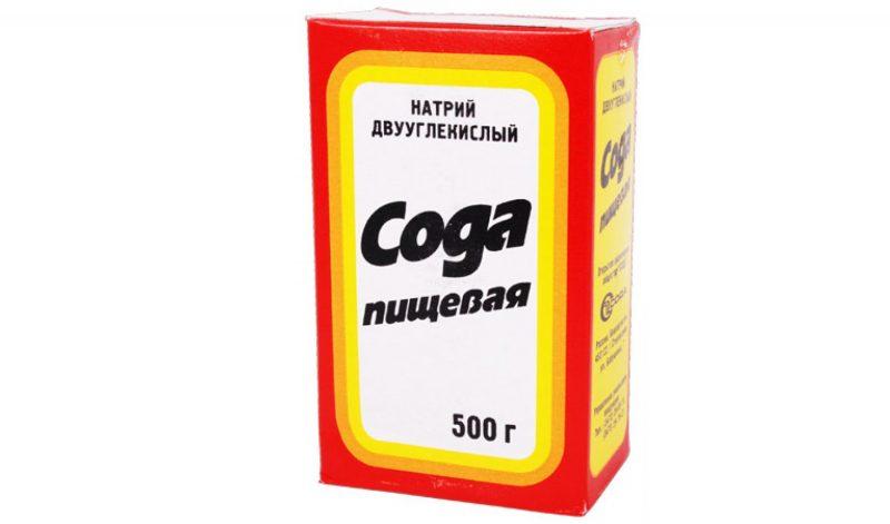 сода пищевая формула полезные свойства применение и лечение