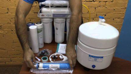 вода из фильтра вред и польза