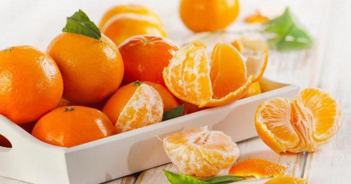 какие витамины в мандаринах и чем он полезен