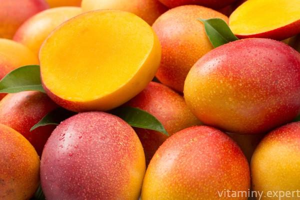 какие витамины в манго и чем оно полезно