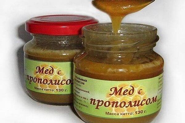 мед с прополисом полезные свойства как принимать для похудения