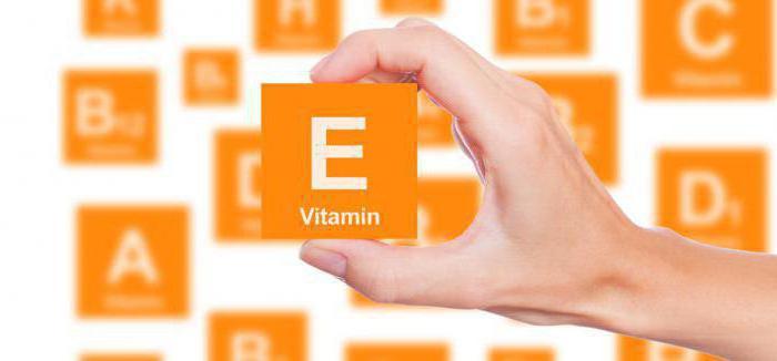 витамин е для чего полезен для волос